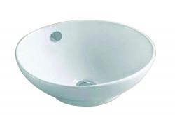 Blusani Cera opbouw waskom 42,5 cm wit BC204502