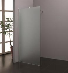 Stern Inloopdouche 80x200 cm zilver melkglas ST4908