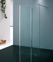 Stern Inloopdouche reversed 120x200 cm zilver helder glas ST4905N