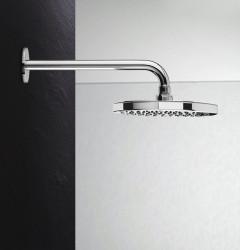 Waterevolution Flow hoofddouche 200mm met muuraansluiting chroom T164101