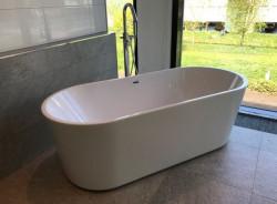Aquadesign Monaco vrijstaand ligbad 178x80cm acryl wit BNG1786