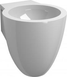 Clou Flush fontein (flush 6) met voorbewerkt kraangat met plug en bekersifon mineral marmer PhotoFreestanding