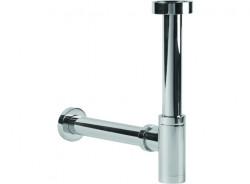 Clou  designsifon chroom speciaal voor fonteintjes met ø40mm adapter voor wandaansluiting PhotoFreestanding