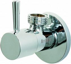 Clou InBe design hoekstopkraan type 1 rond chroom PhotoFreestanding