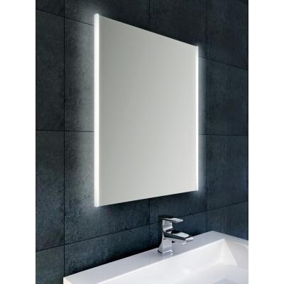 Aquadesign Dobro condensvrije spiegel 50x70 met verticale verlichting li+re BNG5070