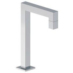 Aquadesign Cristallo wastafelkraan staand hoekig vierkant chroom BNG2235