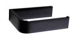 Waterevolution Deep WC-rol houder mat zwart