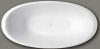 Design vrijstaand bad 180x90 solid surface mat wit 1208787872