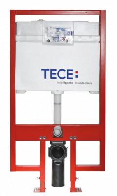 TECE ruimtebesparend inbouwreservoir 8 cm diep 120cm hoogte reservoir voor frontbediening