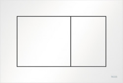 TECE now kunstof WC-bedieningsplaat glans wit 1208791172