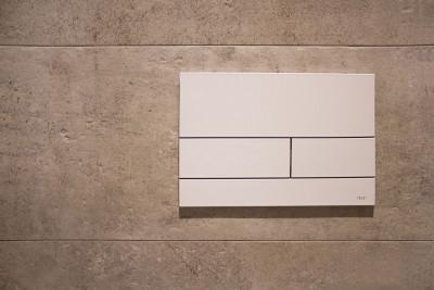 TECEsquare II metaal WC-bedieningsplaat Wit glanzend 1208791222