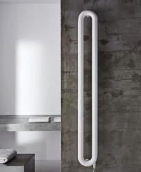 Instamat Tubone - V designradiator 150x21 cm glanzend wit TV150-2.1