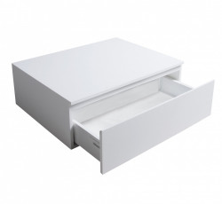 Solid S onderkast 60x46 cm Solid Surface mat wit 1208832302