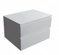 Solid S onderkast 60x46 cm Solid Surface mat wit 1208832322