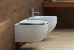 Flavio Murano rimless wandtoilet wit incl. softclose zitting en quickrelease FM0103