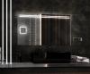 Topline badkamerspiegel met LED verlichting 120x60cm - make-up spiegel - sensorschakelaar - spiegelverwarming POW12060
