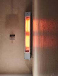 Sunshower Solo White opbouw full body infrarood en UV-lampen 80076