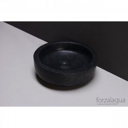 Forzalaqua Verona XS opbouw opzetkom rond antraciet graniet gezoet 30 x 10 cm zonder overloop 8010297