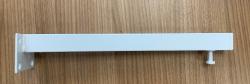 Metalen ophangbeugels wit met stelschroef lengte 36cm tbv wastafels en of wastafelbladen 1208920706
