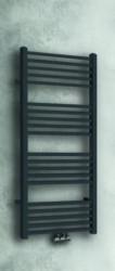 Aquadesign Cubic Handdoekradiator mat zwart 119x60cm met vierkante buizen