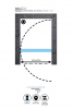 Aquadesign Minimal douchedeur 60x200cm profielloos - geborsteld rvs beslag