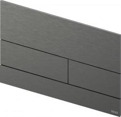 TECE square II metaal WC-bedieningsplaat PVD Gun Metal geborsteld 1208946844