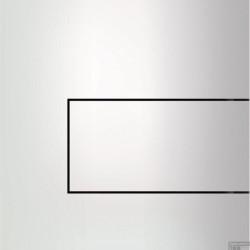 TECEsquare II metaal Urinoir-bedieningsplaat Wit