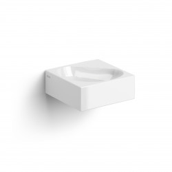 Clou Flush 5 hoekfontein 27cm zonder kraangat wit keramiek