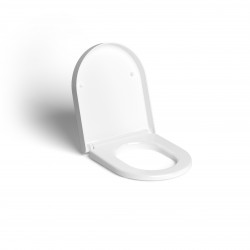 Clou Hammock toiletzitting met deksel soft-closing wit