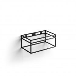 Clou Frame Wash Me rvs kokerprof. 70 cm mat zwart poederlak
