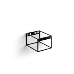 Clou FrameHammock rvs kokerprofielkast 40 cm mat zwart poederc.