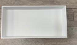 Solid-S inbouw nis mat wit solid surface 60x30x8cm 1208946929