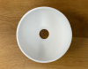 Solid S kleine waskom fontein Solid Surface rond 20 x 20 x 11 cm mat wit 1208953267