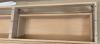 OUTLET SHOWROOMMODEL TopLine Utrecht massief eiken badmeubel 197x45x30cm kleur white 1208953330