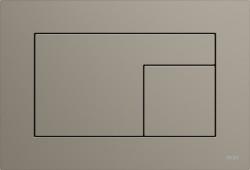 TECE Velvet Fenix WC-bedieningsplaat grijs bruin taupe 1208954458