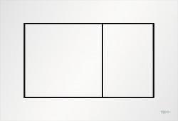 TECE now kunstof WC-bedieningsplaat mat wit 1208954462