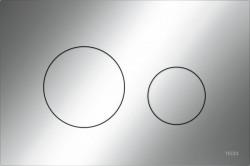 TECE Loop kunstof WC-bedieningsplaat chroom 1208954465