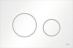 TECE Loop kunstof WC-bedieningsplaat mat wit 1208954469