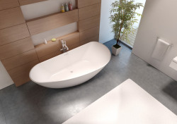 Riho Granada bad 190x90 solid surface wit BS20005